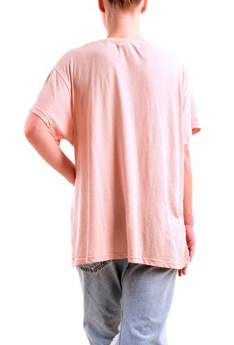 Wildfox Donna Short Sleeve More Glitter Top Fumo Rosa