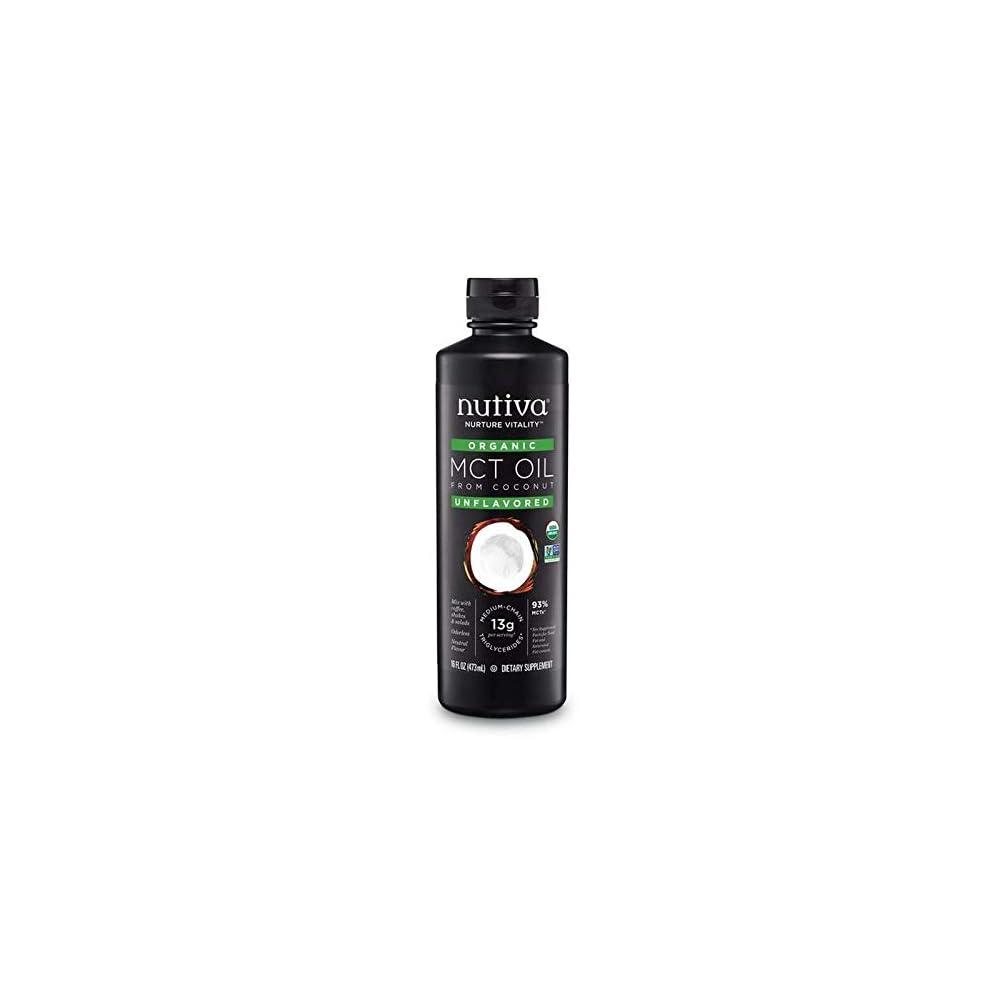 Nutiva Organic Mct Oil 93 473ml