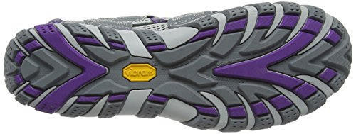 Merrell Waterpro Maipo, Chaussures D'escalade Pour Femmes Multicolores (gris / Royal Lilac)