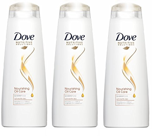 Dove Hair Therapy Pflegende Oil Care Shampoo 250 ml (3 Pack)