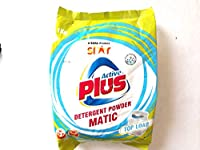 TATA Active Plus DETERGENT POWDER MATIC By TATA Product [Triple Action Power and Contains cloth guard REMOVES TOUGH STAINS,OPTICAL BRIGHTENERS ] PACK OF 1 KG