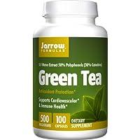 Jarrow Formulas Green Tea, 500 Mg, 100 Capsules, 500