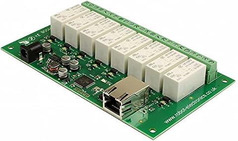 eth008–8x 16A Relais Ethernet