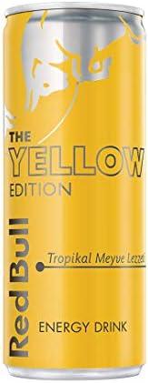 Red Bull Enerji İçeceği, Tropikal Meyve, 250 ml