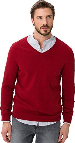 Brax Herren Pullover Vico Crimson