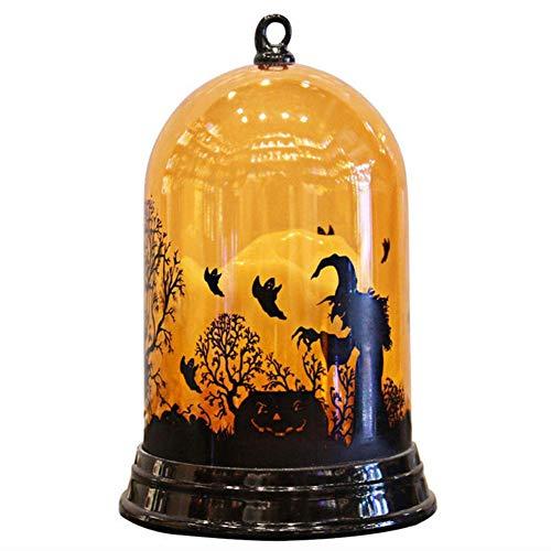 halloween kürbis deko Nachtlicht Hexenlicht Desktop Dekoration für party, Geschenk für Kinder