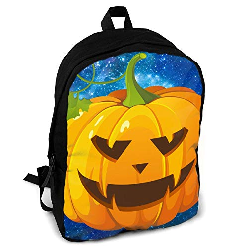 Halloween-Kürbis-Mode-Druck-Erwachsene Rucksack-Reise, die Rucksack wandert