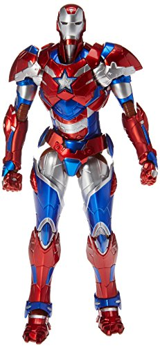 Sentinel Sen-ti-nel Marvel Iron Man RE:Edit Iron Patriot Action Figure