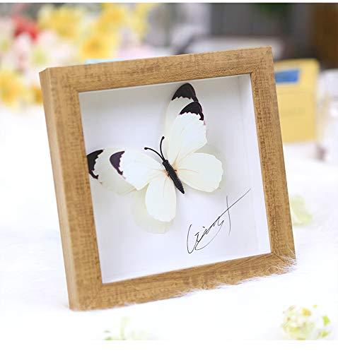 SONGHJ Dreidimensionale kreative DIY Fotorahmen 6 7 Zoll getrocknete Blumen Kinder Bilderrahmen...
