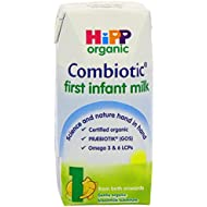 HiPP Organic 1 From birth Onwards First Infant Milk 200 ml (Pack of 12 Cartons)