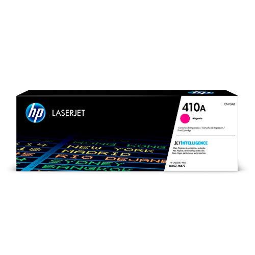 HP 410A CF413A pack de 1, toner d'origine, imprimantes HP LaserJet, magenta