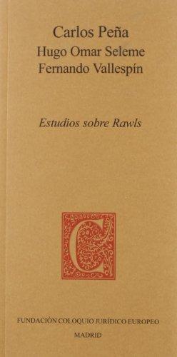 Estudios sobre Rawls