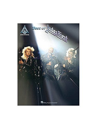 Best Of Judas Priest. Partitions pour Tablature Guitare(Symboles d'Accords)