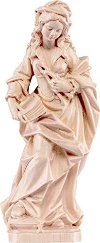 Ferrari & Arrighetti San Apollonia - Holzfigur von Hand bemalt. Leuchthöhe 15 cm