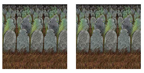 iedhof-Hintergründe, 2-teilig, 122 x 76 cm, mehrfarbig ()