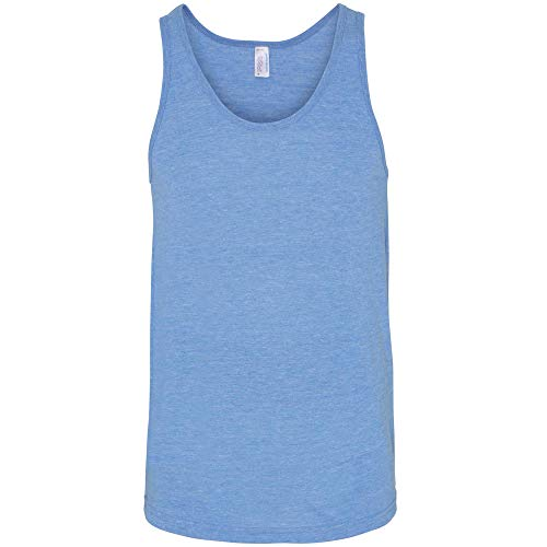 Authentische American Apparel (American Apparel Triblend Tank (TR408) blanko, AA047 Gr. XL, Athletic Blue)