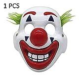 5 piezas máscaras de Halloween Joker máscara Arthur Fleck Cosplay DC...