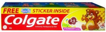 Colgate Kids Toothpaste 2-5 Yrs Strawberry Flovour