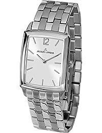 Jacques Lemans Reloj Analógico para Mujer de Cuarzo con Correa en Acero  Inoxidable 1-1905F 89a9640c5110