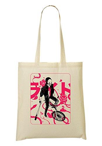 Tune Bike (Bosozoku Skullboy On Bike Tragetasche Einkaufstasche)