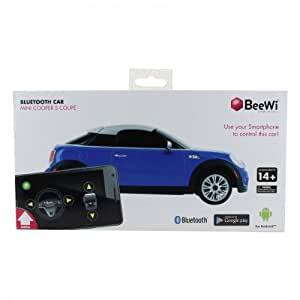 beewi bbz202 a2 voiture mini cooper coup bluetooth pour appareil android bleu high tech. Black Bedroom Furniture Sets. Home Design Ideas