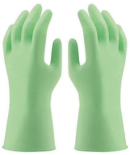 50 Stück Uvex u-fit strong , sehr starke Einweghandschuhe / Chemikalienschutzhandschuhe, für den Einsatz im Labor und bei der Reinigung, Größe S