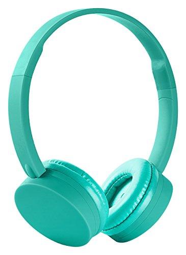 Energy Sistem BT1 - Auriculares Bluetooth con micrófono (control talk,  batería recargable, ultraligeros), color verde menta