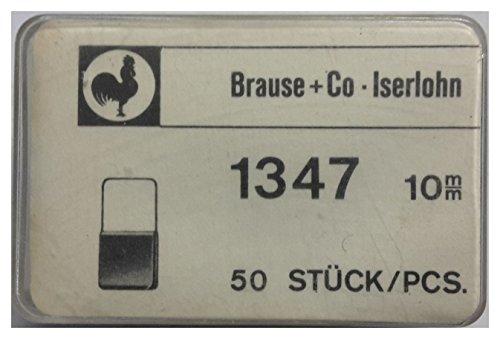 Brause Reiter 1347, 10mm braun, 50 Stk.