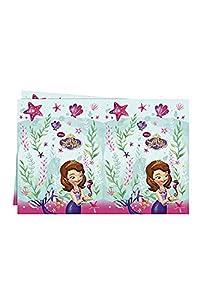 Procos 86592-Mantel de plástico, diseño de princesa Sofia () 120 x 180 cm