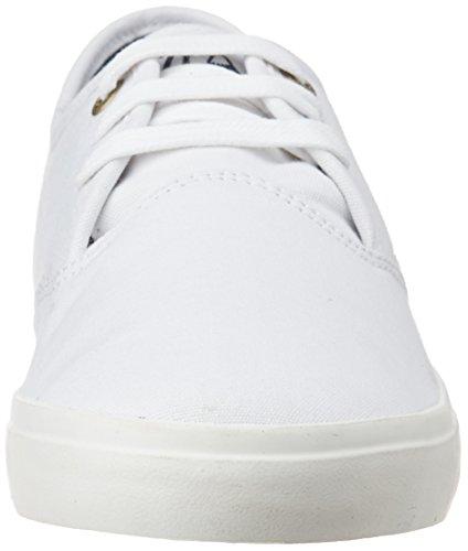 Quiksilver Shorebreak, Baskets Basses Homme Blanc - White (White/White/White)