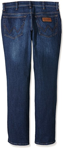 Wrangler - Texas Stretch - Jeans - Droit - Homme Bleu (Hold Down)