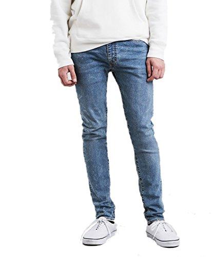 Levis Herren Jeans 519 Extreme Skinny Advanced Stretch 24875-0053 Blau, Hosengröße:34/32