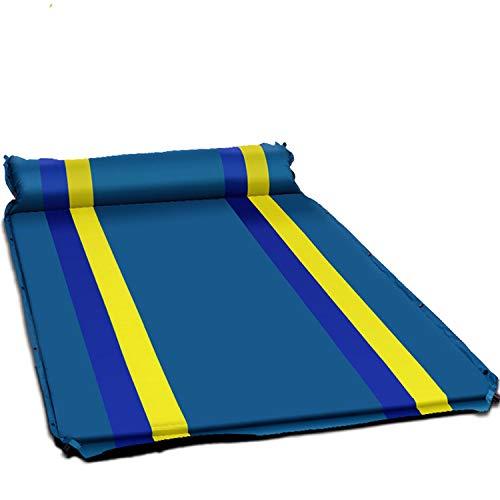 Aero Luftmatratze (FLDONG Camping Strandmatte aufblasbare Doppelmatratze Einzelbett Strand Selbstaufblasende Reisematte Outdoor Luftmatratze für Isomatte)