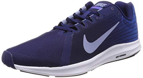 Nike Herren Downshifter 8 Laufschuhe, Blau (Blue Void/Indigo Fog/Photo Blue 405), 44 EU -