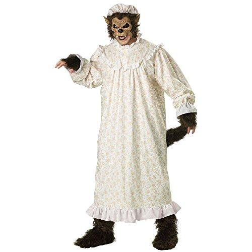 Wolf Kostüm - XXL (Der Big Bad Wolf Kostüm)