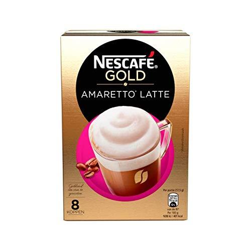 NESCAFÉ Latte Amaretto EXTRA CREAMY 8 Sachets 140g