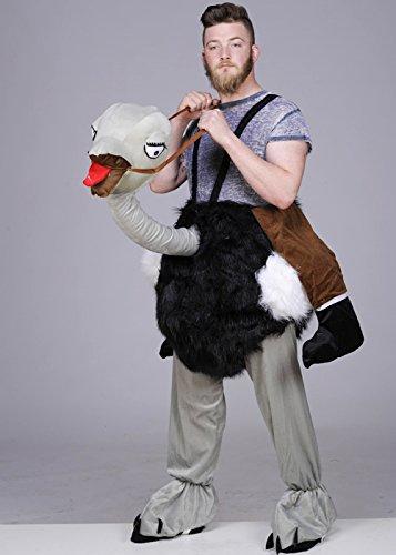 Adulto Ride sul Costume di struzzo
