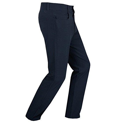 Callaway 5Pocket Technical Trouser Pantalon, Herren Graphitschaft L blau (Callaway Hosen)