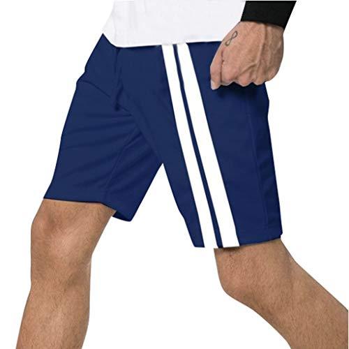 JiaMeng Pantalones Cortos Deportivos Hombre Pantalones
