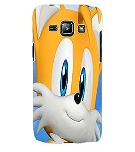 ColourCraft Cute Cat Design Back Case Cover for SAMSUNG GALAXY J1