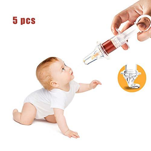 DZWJ Baby-Medizin-Zufuhr, Babyernährung Geräte Dropper Typ Medizin Feeder-Set mit einem Gehalt Medizin Cup Mahlstabs