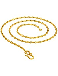 BFC- Stylish One Gram Gold Plated 24 Inches Long Chain For Man And Woman