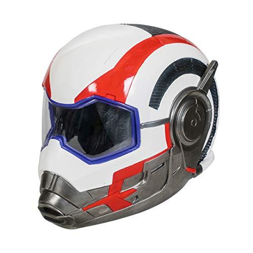 Wellgift Avengers Quantum Maske für Erwachsene Endgame Helm Cosplay Kostüm Halloween Herren & Damen Full Head Resin Helm Verkleiden Merchandise Prop (Iron Man Verkleiden)