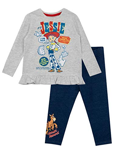 Disney Camiseta y Leggings para niñas Toy Story Multicolor 6-7 Años
