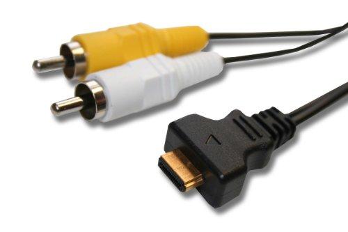 1,5m AV-KABEL passend für CASIO Exilim ersetzt EMC-3A Emc-3a Av-kabel