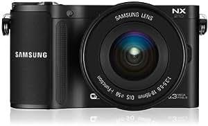 Samsung NX210 Classic Edition Kompakte Systemkamera (20,3 Megapixel, 7,6 cm (3 Zoll) AMOLED-Display, Full HD, Panorama, bildstabilisiert) inkl. 18-55mm F3.5-5.6 OIS III (Metal Mount) Objektiv