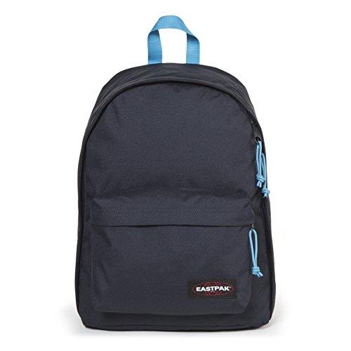 Eastpak Out Of Office Sac à dos, 44 cm, 27 L, Bleu (Navy-Aqua)