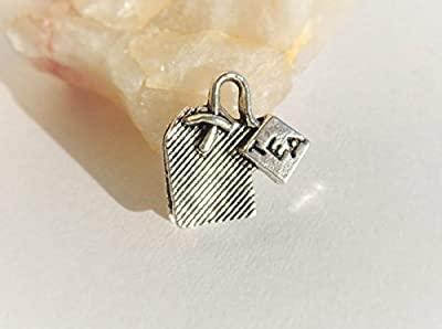 20 Breloques - pendentifs Thé 15x15mm ? charms gourmandise