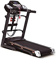 Treadmill Device slimming and fitness, 5050D (Black)