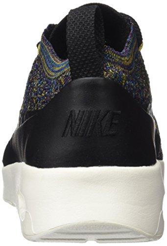 Nike Air Max Thea Ultra Flyknit, Scarpe da Ginnastica Donna Nero (Black/black-ivory-night Purple)